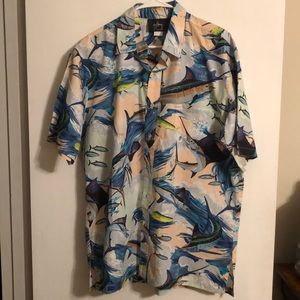 Men's Guy Harvey Buttoned Down Shirt